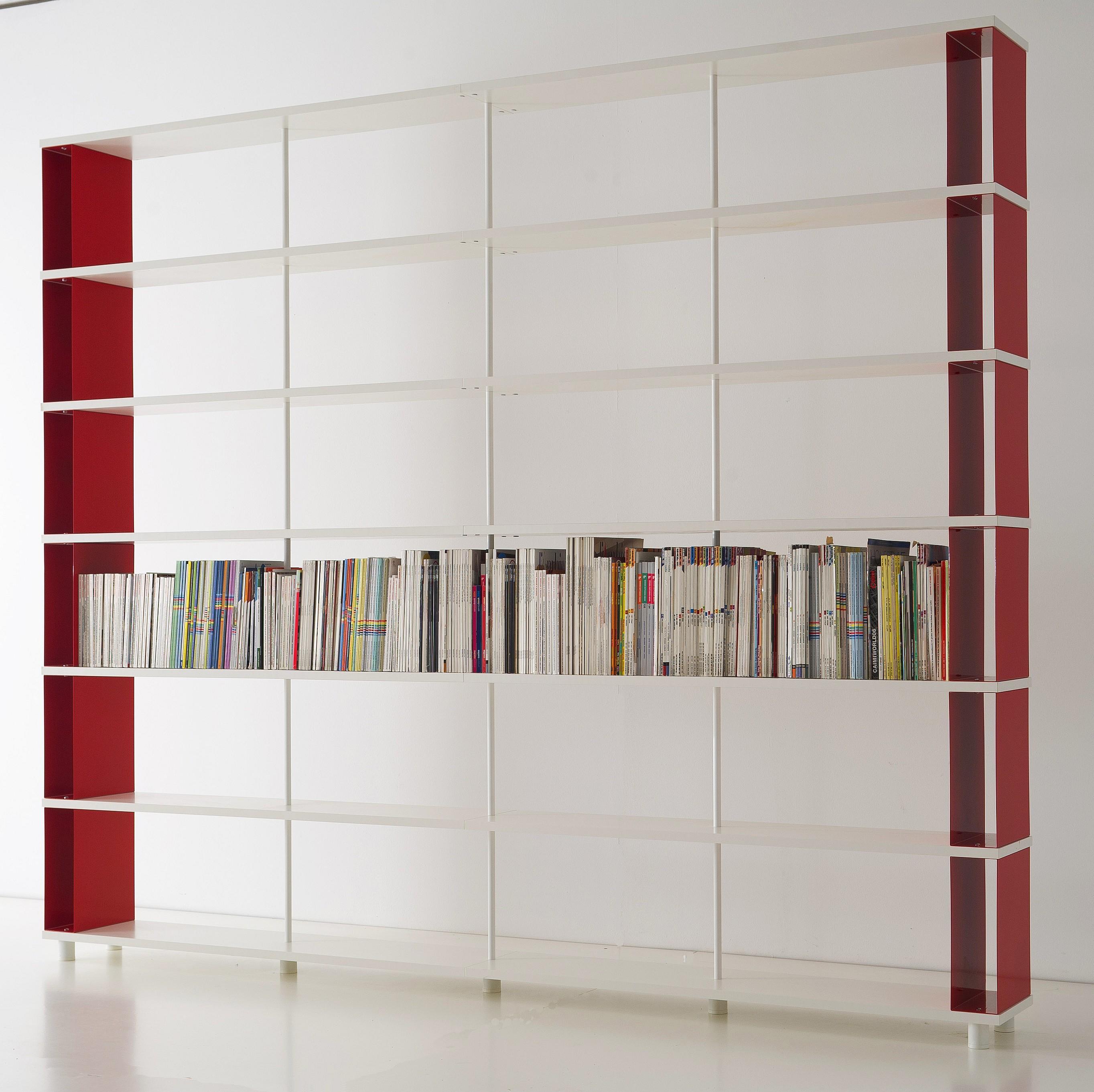 Librerie componibili skaffa red shop online for Libreria shop online