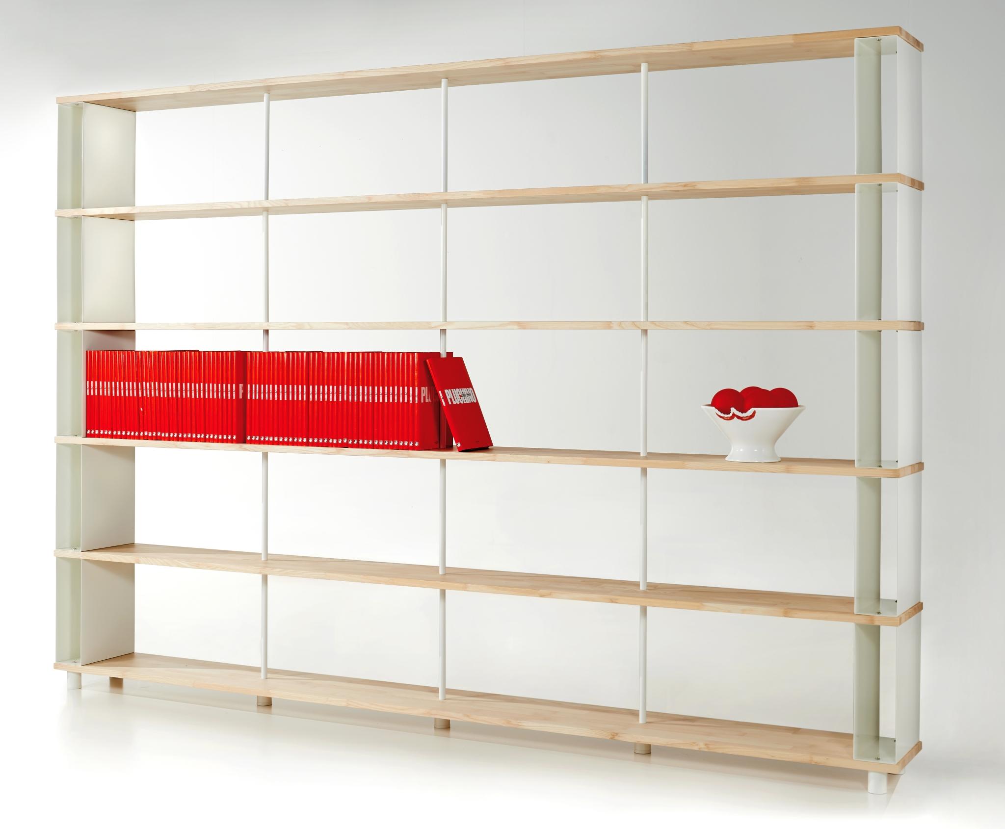 Skaffa Wood - Libreria Made in Italy componibile in legno massello