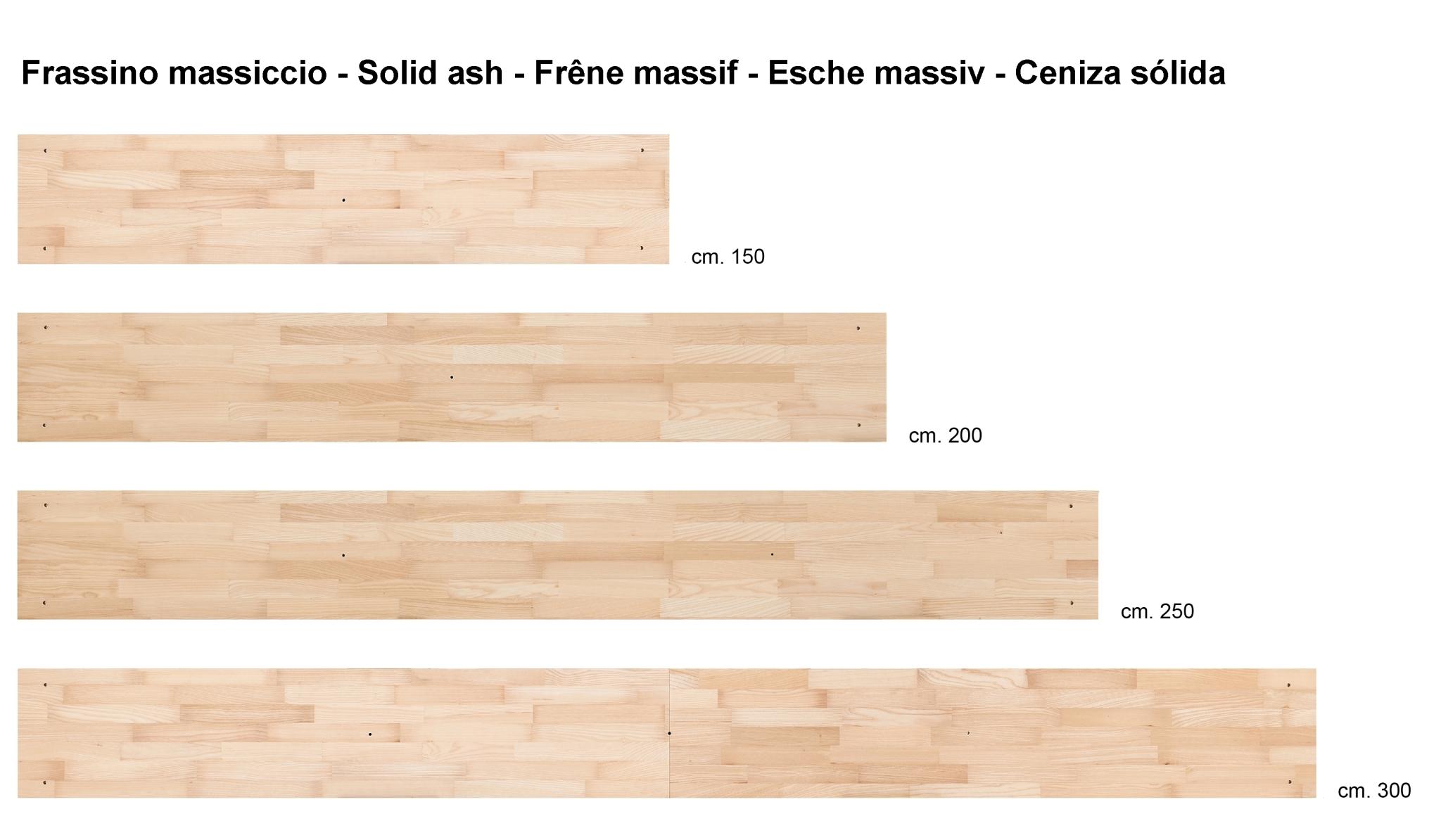 Skaffa wood libreria made in italy componibile in legno for Mensole legno naturale