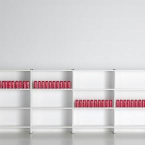 Bücherregal Weiß
