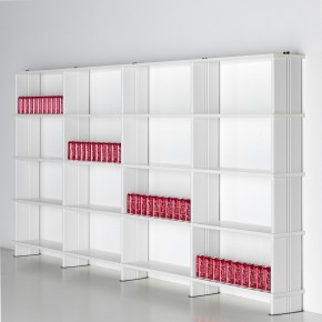 librerie bianche