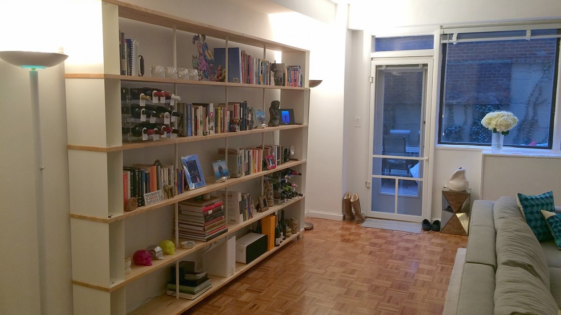 modular bookcase skaffa in new york