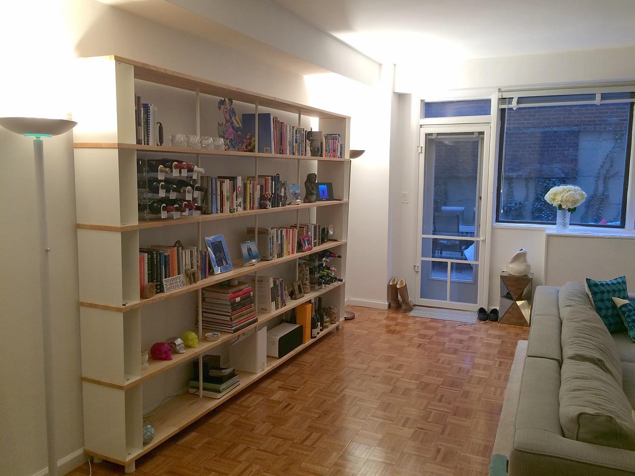 libreria componibile skaffa a new york