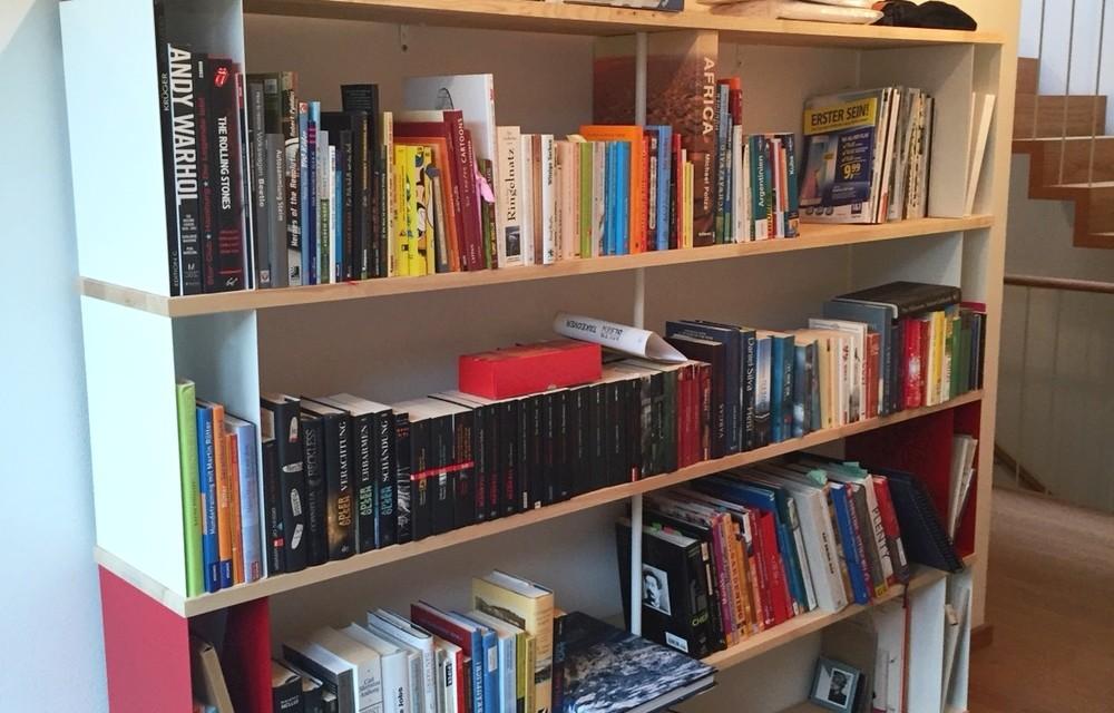wall bookcase uk