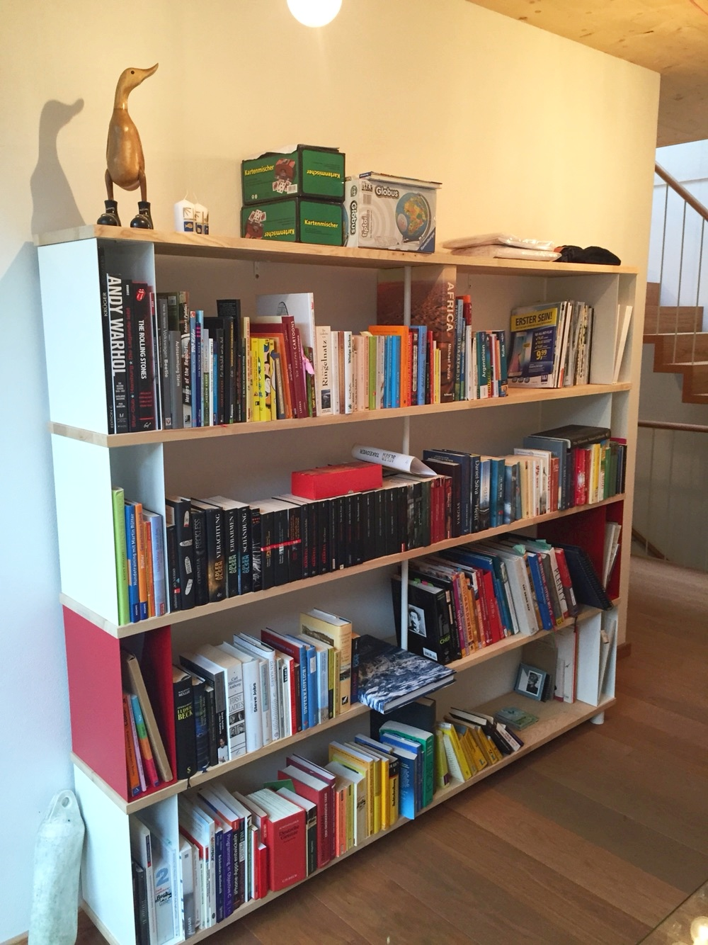wall bookcase uk