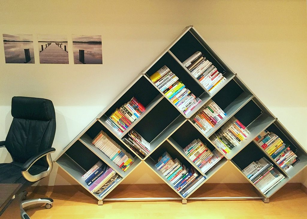 bookcase tokyo