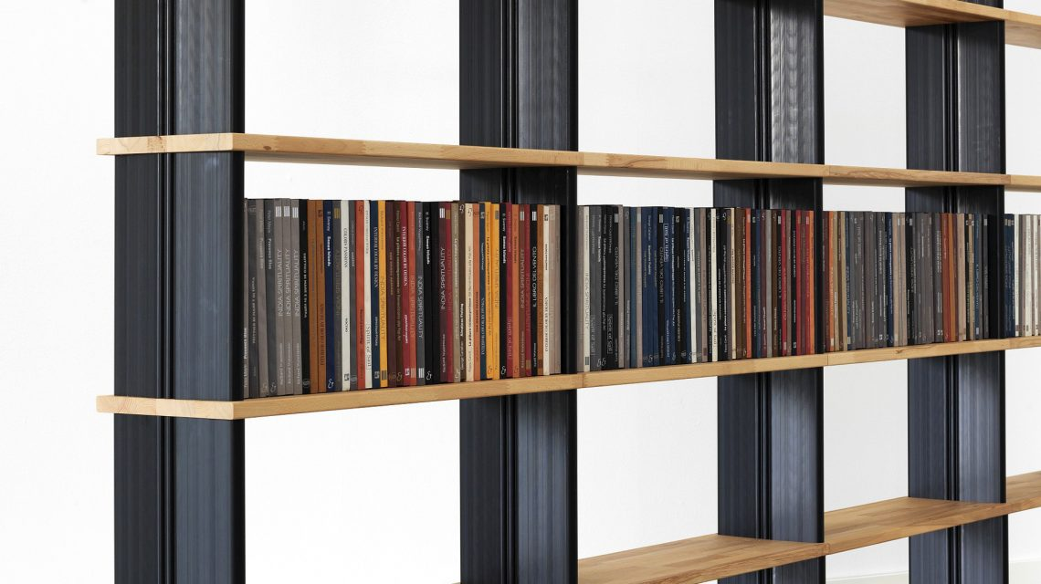 Scaffali componibili modulari ufficio di design piarotto