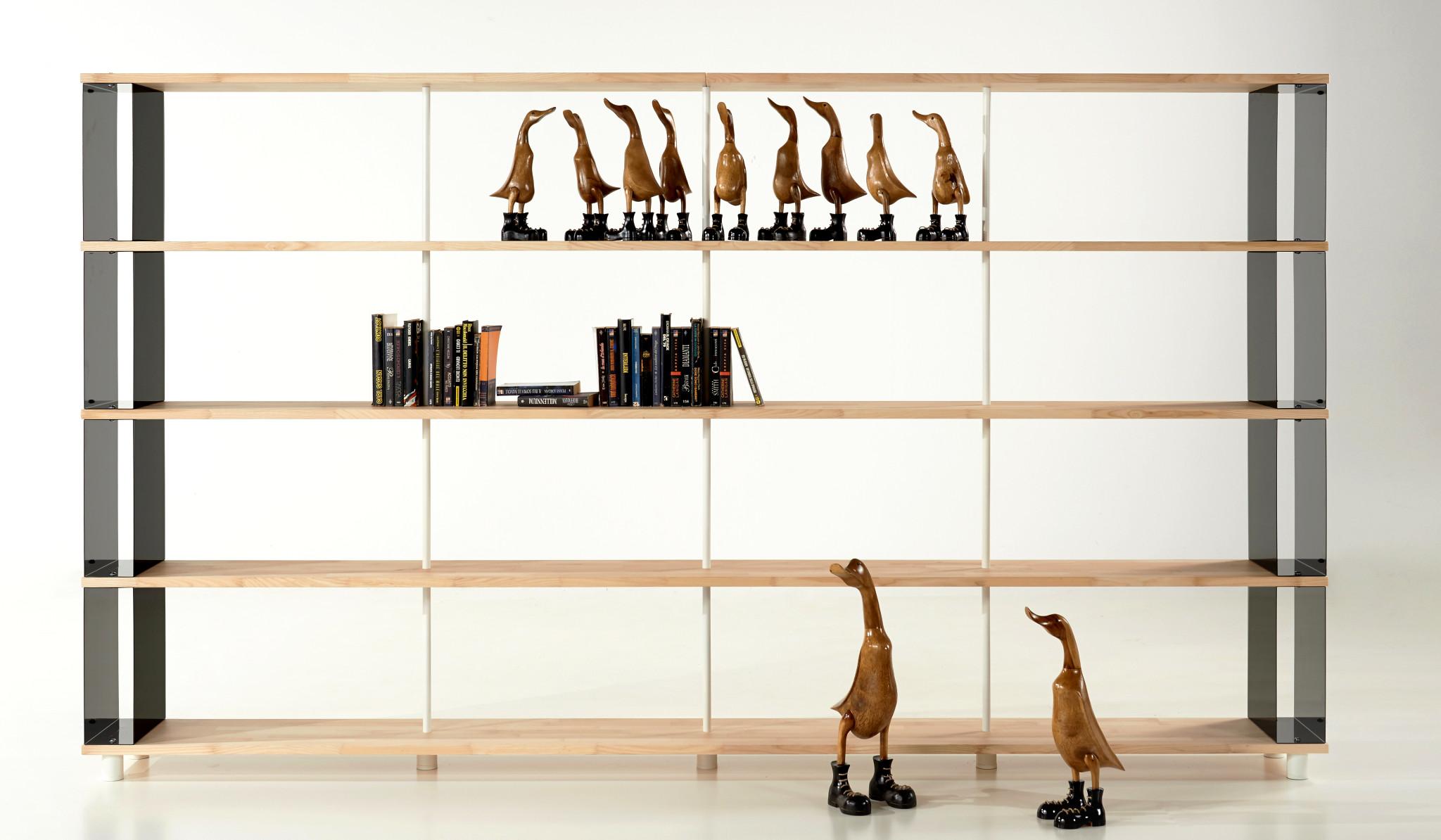 Librerie componibili di design mobili made in italy dal 1922 for Librerie modulari economiche